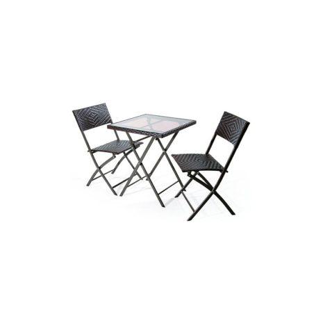 Set mobili giardino ios tavolo e due sedie for Offerte set tavolo da giardino