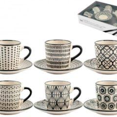 Set 6 tazzine caffè Vhera H&H