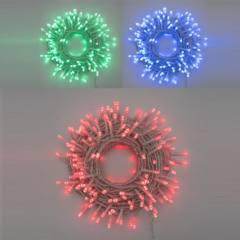 Catena MAGIC RGB 200 LED 5mm Telecomando IR 7 colori +11 Giochi di luce 4,5V