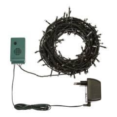 Catena TLM 200 LED BIANCO 5mm Controller Musicale 5+2G 24V