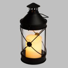 Lanterna Moby Metallo LED CLASSIC Telecomando H27cm