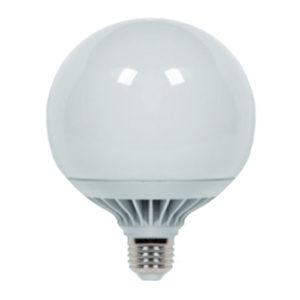 LAMPADINA LED GLOBO ATTACCO E27 VALEX 15W BASE IN ALLUMINIO