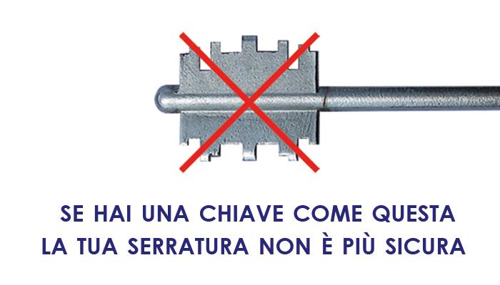 Sicurezza porte e finestre ferramenta mozzo vendita on for Estrarre chiave rotta da cilindro