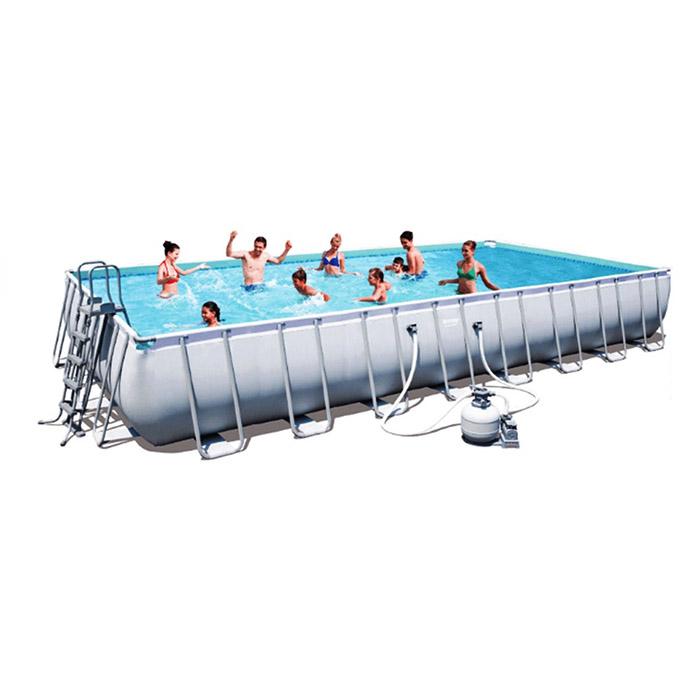 Piscina rettangolare bestway 56623 956x488x132 cm - Manutenzione piscina fuori terra bestway ...