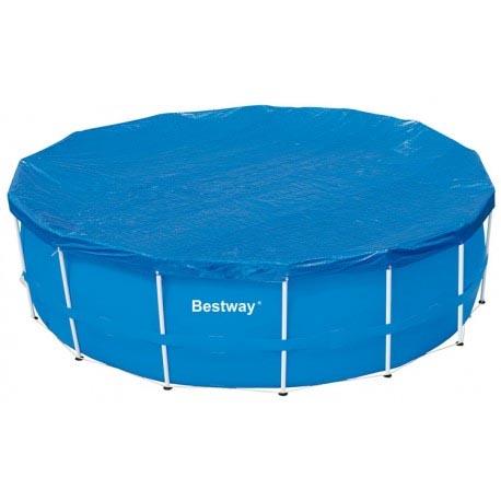 Telo copertura piscina diametro 366 cm bestway 58037 - Teli per copertura piscine fuori terra ...