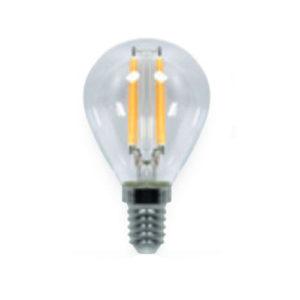 LAMPADA LED FILAMENTO GLOBO CHIARA ATTACCO E14 VALEX 4W