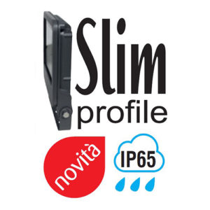 proiettore led slim profile ip65 valex