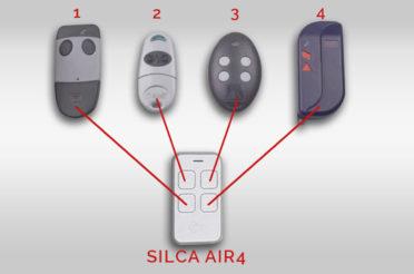 Tutorial memorizzazione 4 radiocomandi in 1 Silca Air 4
