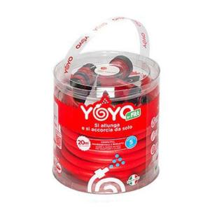 KIT TUBO ESTENSIBILE ANTITORSIONE FITT YOYO 20 METRI