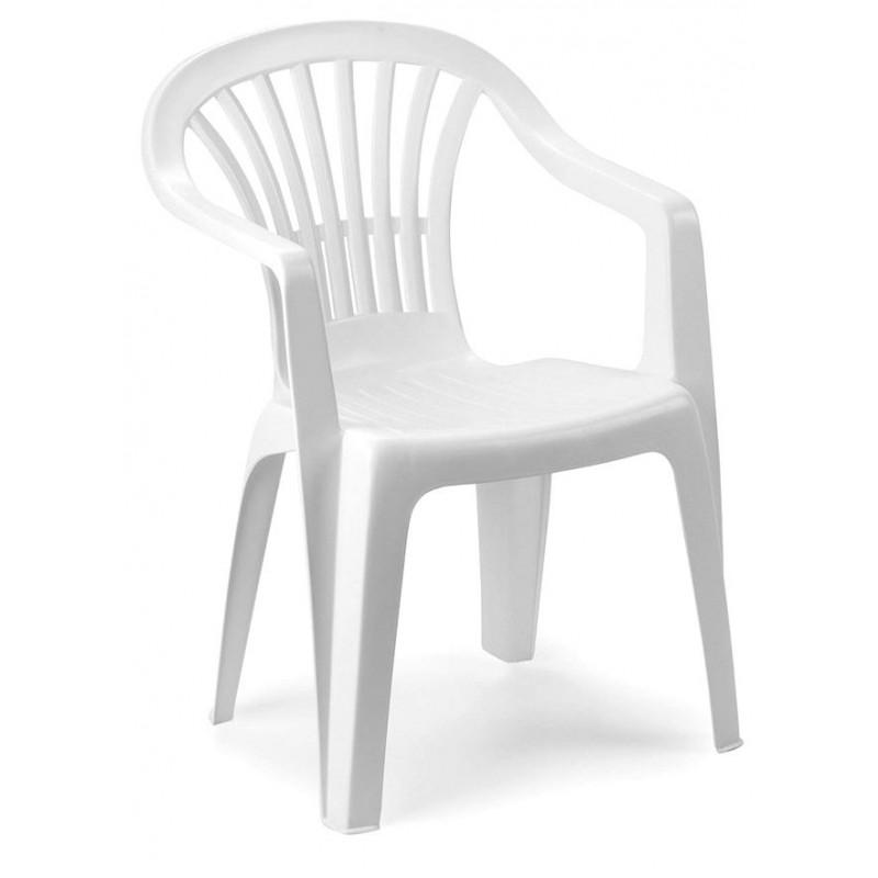 Sedia da giardino plastica altea schienale basso - Sedie da giardino in plastica ...