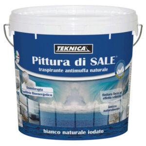 PITTURA DI SALE TRASPIRANTE ANTIMUFFA NATURALE 4 LT