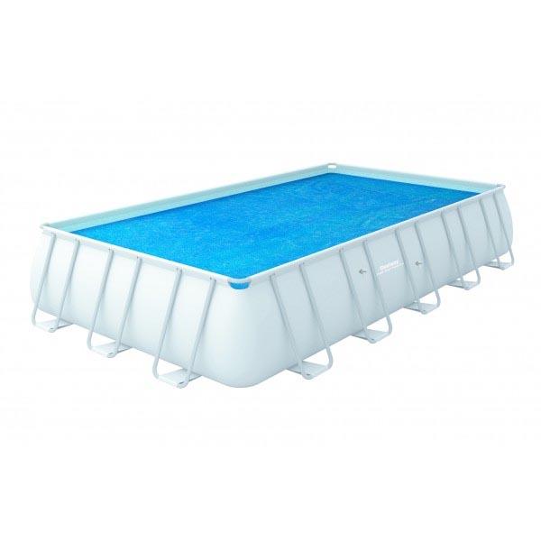 Telo termico piscina 732x366 cm bestway 58228 - Teli per copertura piscine fuori terra ...