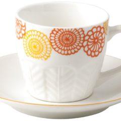 Set 6 tazzine caffè Fiore H&H