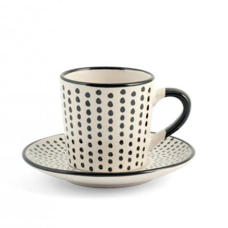 Set 6 tazzine caffè Vhera H&H5
