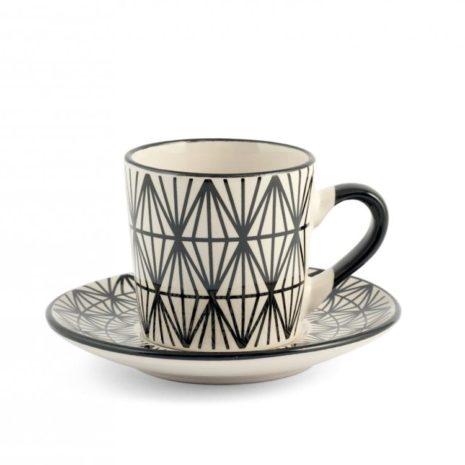 Set 6 tazzine caffè Vhera H&H6