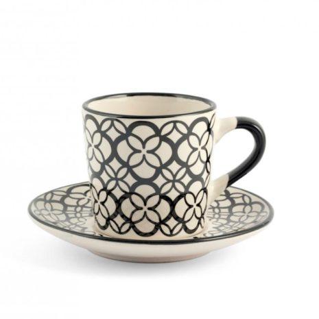 Set 6 tazzine caffè Vhera H&H7