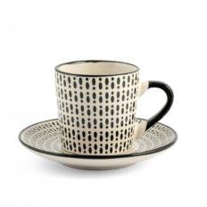 Set 6 tazzine caffè Vhera H&H8