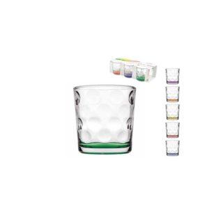 6 bicchieri colorati Pasabahce Space