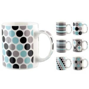 Tazza mug NBC Geometric Decori Assortiti H&H 350 ml