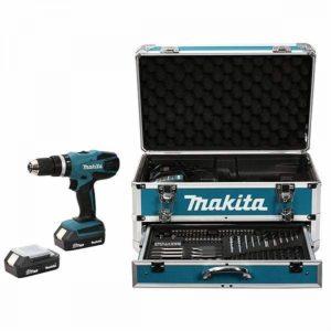 Kit trapano a batteria Makita hp457dwex4