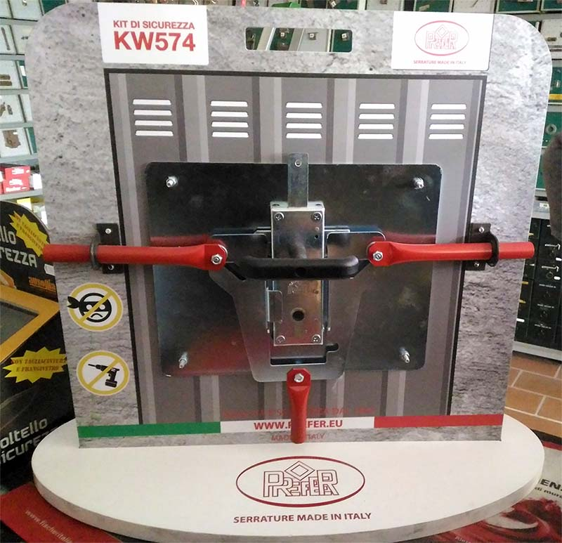 Serratura kit garage basculante PREFER