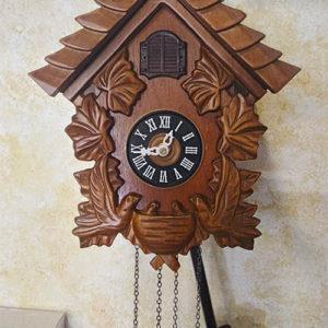 Orologio da parete Cucù in Legno Home 21CM