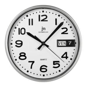 Orologio da parete con Datario JustaMinute LOWELL 25 CM