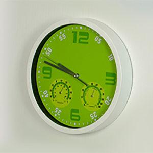 Orologio da parete con Igrometro e Termometro