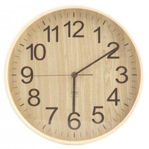 Orologio da parete in legno chiaro H&H 32 CM