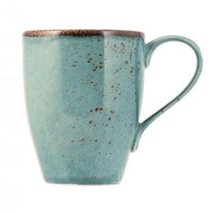 Tazza mug azzurro con decorazioni Reactive H&H 300 ml