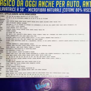 KIT 4 TAPPETINI AUTO UNIVERSALI TAPPETO MAGICO MICROFIBRA _tabella modelli auto_compatibili