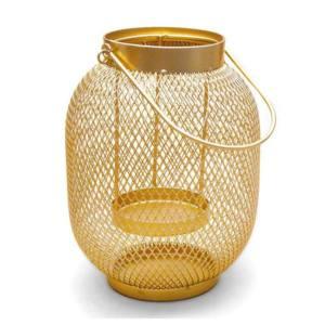 Lanterna Atelier Metallo Colore Oro 15xh20 cm H&H