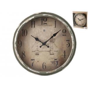 Orologio Vintage da parete tondo ø 34 cm H&H