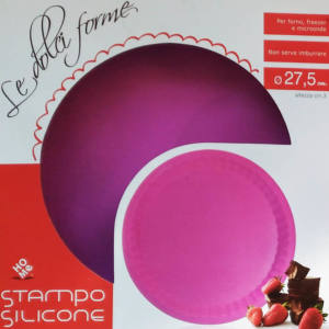 Home Tortiera in Silicone Diametro 27,5 cm
