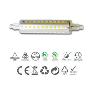 LAMPADA R7 S10 LED SMD 10W 118MM INNOLED