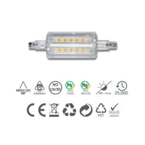 LAMPADA R7 S5 LED SMD 5W 78MM INNOLED