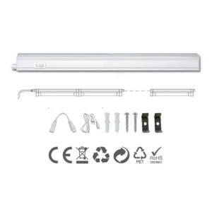 LAMPADA REGLETTE SOTTOPENSILE T5 IP20 LED