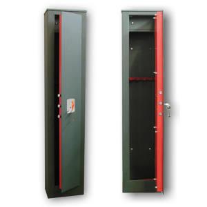 THEMA STH380 Porta Fucili 4 - 5 Posti Blindato con Chiusura Chiave