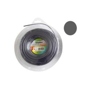 Filo decespugliatore nylon alluminio professionale rotondo 3 mm 50 m