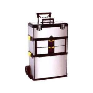 STAZIONE MOBILE INOX Scomponibile in 3 casse