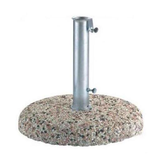 Base ombrellone graniglia 60 cm con tubo acciaio 62 mm 50 kg - Ombrelloni da giardino brico ...
