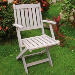 Sedia pieghevole in legno Lerici 51x59x85H cm