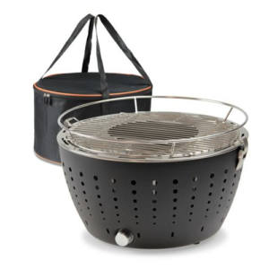 Casaitalia Grill & Cook Barbecue 36 cm Antracite