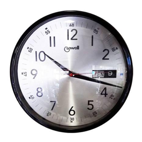 Orologio da parete con Datario LOWELL 30 CM