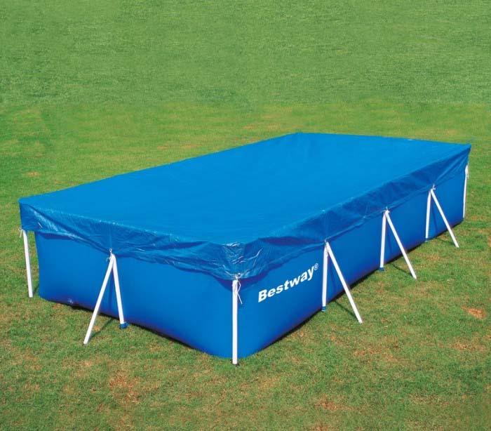 Telo copertura piscina 549x274 cm bestway 58378 - Riparazione telo piscina ...