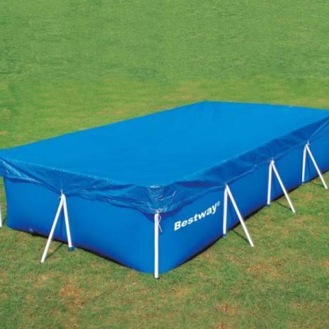 Telo copertura piscina 956x488 cm bestway 58305 - Teli per copertura piscine fuori terra ...