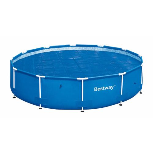 Telo termico rotondo piscina 488 cm bestway 58253 - Teli per copertura piscine fuori terra ...