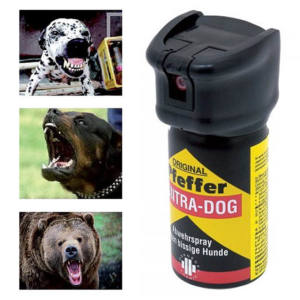 Spray Antiaggressione Peperoncino animali feroci Contra Dog Defence System