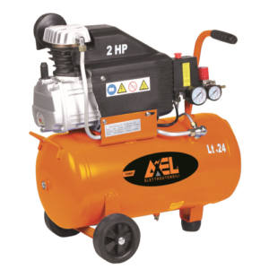 COMPRESSORE AXEL 24 LITRI 2 HP 8 BAR 3340 RPM