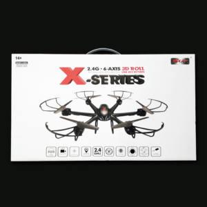 DRONE ESACOTTERO 6 ELICHE CON CAMERA FPV 2,4 GHZ